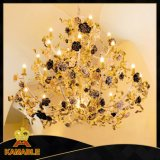 Elegance Rose Hotel Project Decoration Chandelier Light (NLX8862-27)