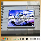 Customized Size P10 DIP Full Color Big Outdoor Advertising Digital Display Screens / RGB Display LED