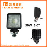 30W 5.0''auto Parts High Intensity Bridgelux LED Work Light with CE RoHS Emark ISO