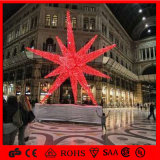 Waterproof Outdoor Christmas LED 3D Red Star Decoration Light