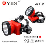 High Quality Bright 1W LED Rechargeable Mining Light Headlamp