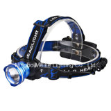 CREE LED Portable Camping Outdoor Light Rechargeable Zoom Headlamp (MK-3371)
