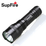12V Rechargeable Flashlight with 26650 Battery