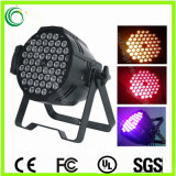 Indoor 54PCS*3W RGBW Aluminum LED PAR