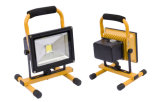 Top Quality 20W LED Rechargeable Floodlight Work Light IP65 CE RoHS Certified