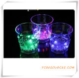 2015 Color Changing Promotional LED Cup Colorful Pub Party Carnival LED Flashing Cups 285ml Colorful LED Flash Cup (DC24001)
