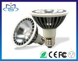 11W Aluminum Alloy Fireproof Base Citizen CREE Epistar COB LED PAR Light PAR30 with CE RoHS