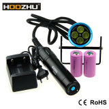 Latest Dive Torch Hoozhu Original Manufacturer Hu33 4000lumen Scuba LED Diving Torch, Underwater Flashlight