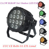 12X15W Rgbaw 5in1 PAR LED Outdoor Light