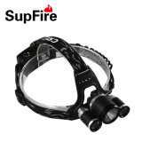3 Lamps High Bright Climbing Waterproof Plastic LED Headlamp Hl33