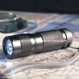 9-LED Aluminum Flashlight (Torch) (12-1H0001)