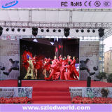 P3.91 High Resolution Lightweight Die-Cast Aluminum Indoor Rental LED Display