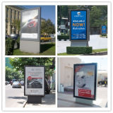 OEM SGS Outdoor Advertising Light Box with Scrolling System