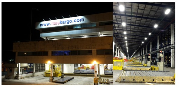 GE Lighting Illuminates Malaysia's MASkargo Advance Cargo Centrewith its Energy-Efficient Solution