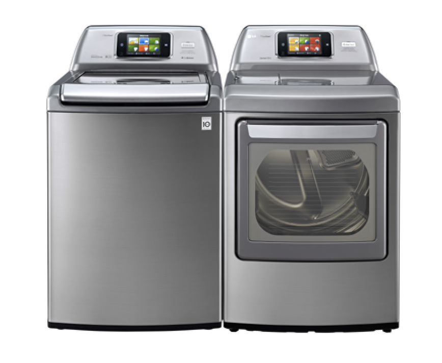 The LG smart washing machines